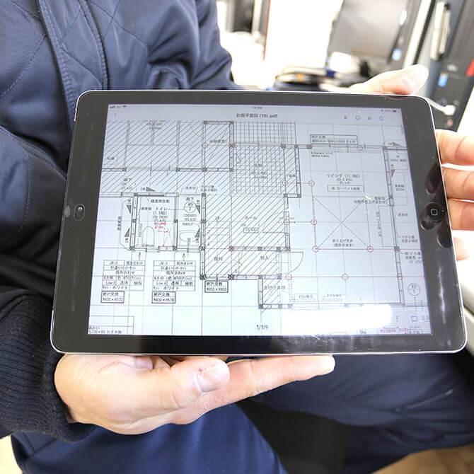iPad支給&デュアルディスプレイ環境の提供