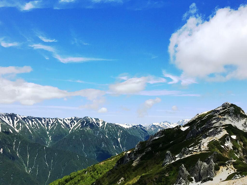 週末晴れたら山に行く