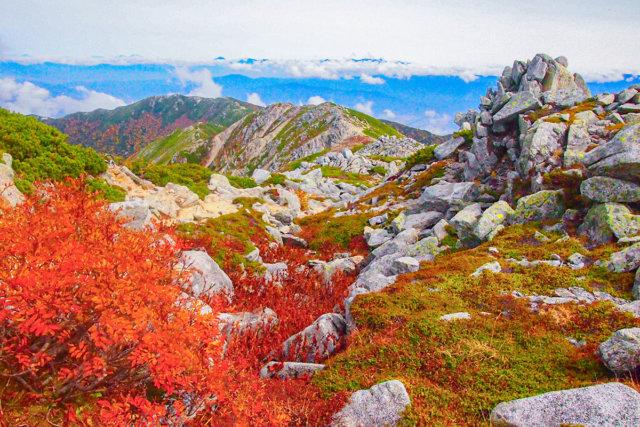 高山を楽しむ中央アルプスの最高峰 木曽駒ケ岳