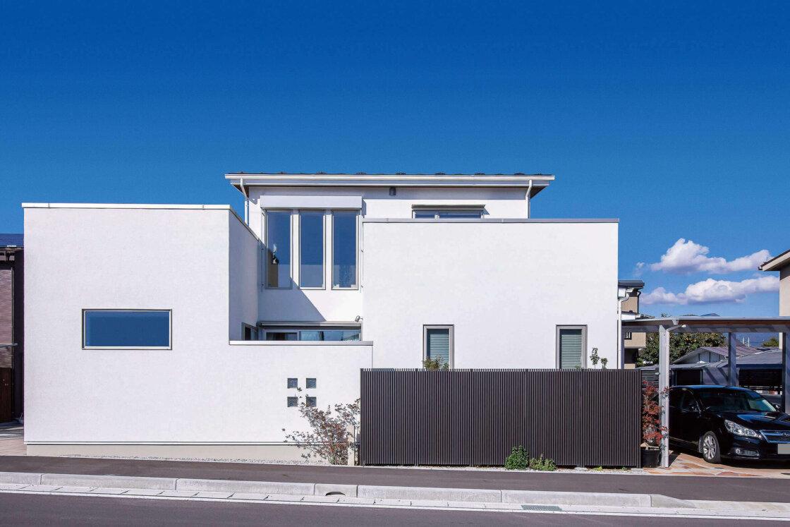 デザイン性と快適さに富む こだわり抜いた心地よい家